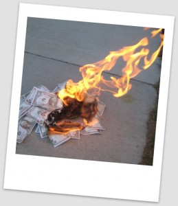 Burning Money | Are You Paying Too Much For Your Technology? Yes | See SSS for Success