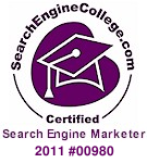 SearchEngineCollege.com Certified Search Engine Marketer 2011 #00980   Kindra Cotton